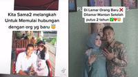 Dilamar Mantan Setelah 2 Tahun Putus. (Sumber: TikTok/ @bella_yolanda)