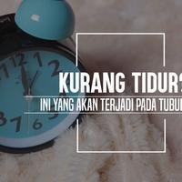 Ini lho yang akan terjadi pada tubuhmu kalau kamu kurang tidur. (Foto: Daniel Kampua, Digital Imaging: Nurman Abdul Hakim/Bintang.com)