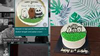 Tak Sesuai Ekspektasi, 7 Kue Ulang Tahun Ini Bikin Ngakak. (Sumber: Twitter/sarrrrraaaaahhh)