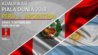 Kualifikasi Piala Dunia 2018_Peru Vs Argentina (Bola.com/Adreanus Titus)