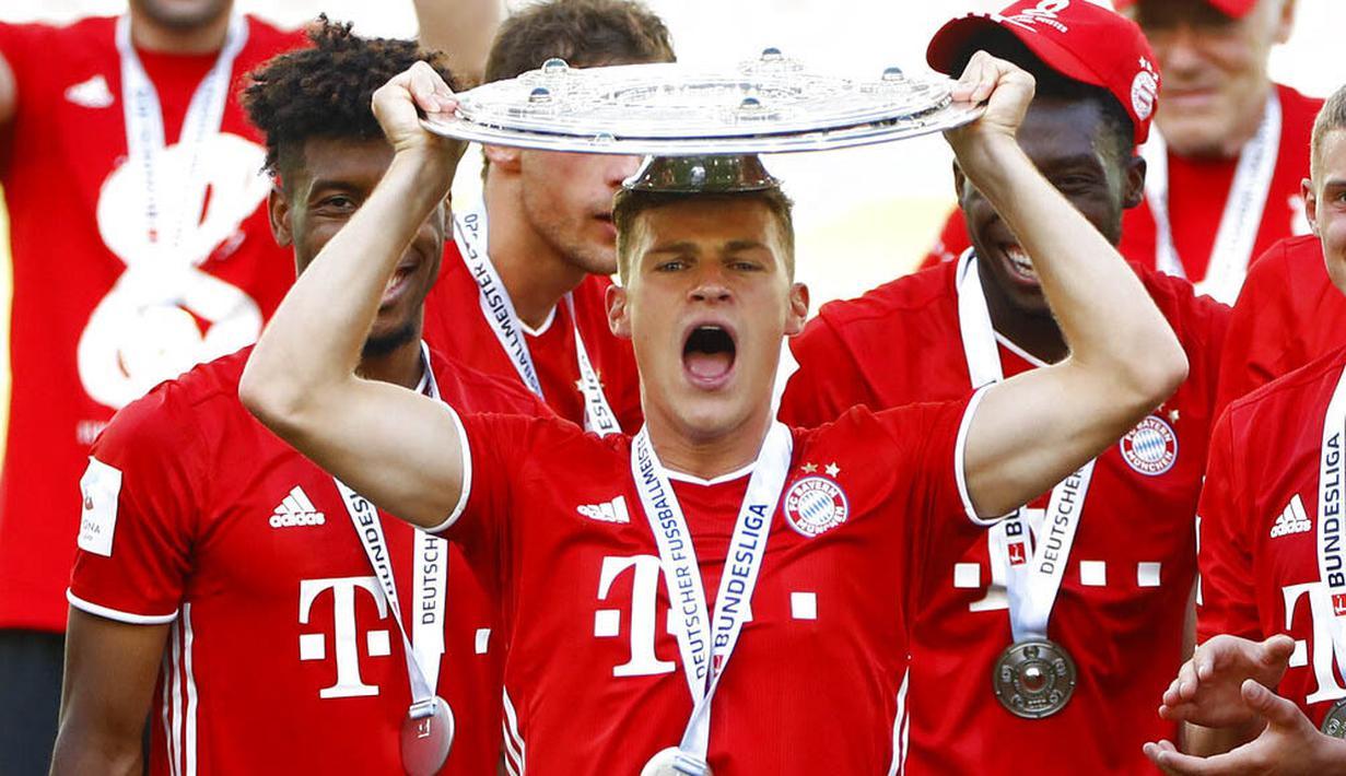 FOTO: Bayern Munchen Juara Bundesliga Musim 2019/20 - Dunia Bola.com