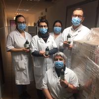 Berkontribusi hadapi pandemi virus corona, L'Occitane produksi hand sanitizer untuk petugas medis (Foto: L'Occitane)