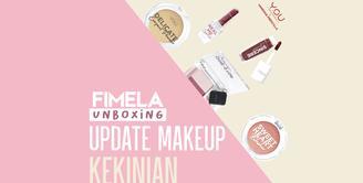 Fimela Unboxing: Update Makeup Kekinian | Y.O.U x Vanesha Prescilla