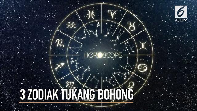 Pemilik tiga zodiak ini dikenal paling sering berbohong.