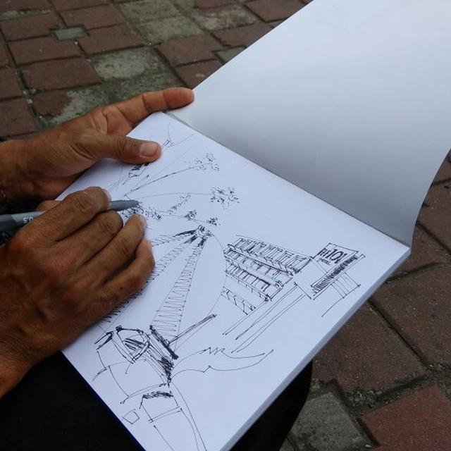 6 Cara Menggambar Sketsa Yang Simpel Cocok Untuk Pemula Citizen6 Liputan6 Com