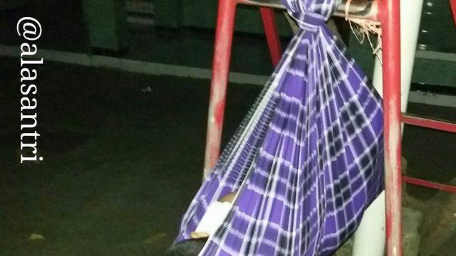 meme anak santri (foto: @alasantri)
