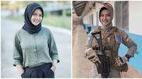 Briptu Hikma Nur Syafa (Sumber: Instagram/hikmanusyaa)