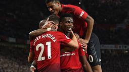 Terlebih lagi lini depan Setan Merah hanya diisi oleh pemain muda. Hal tersebut membuat lini depan Man United butuh pemain cepat yang berpengalaman. (AFP/Paul Ellis)