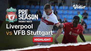 Berita video highlights laga uji coba Liverpool kontra Stuttgart yang berakhir dengan skor 1-1, di mana Ibrahima Konate melakoni pertandingan perdananya bersama The Reds, Rabu (21/7/2021) dinihari WIB.