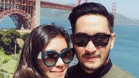 Seperti diketahui, Syahnaz Sadiqah baru saja resmi dipersunting Jeje Govinda pada 21 April 2018. Pernikahan digelar di Bandung dengan tema aoutdoor. (Instagram/syahnazs)