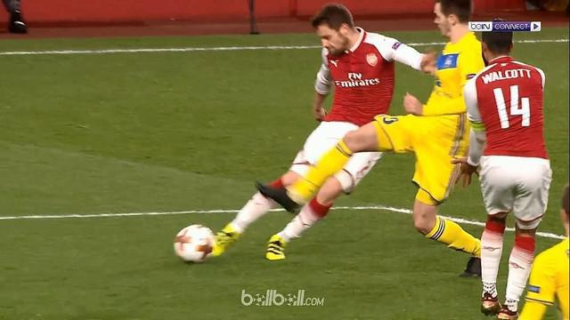 Berita video highlights Liga Europa 2017-2018 antara Arsenal melawan BATE Borisov dengan skor 6-0. This video presented by BallBall.