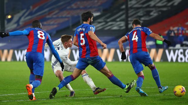 Foto Liga Inggris: Diimbangi 1-1 Crystal Palace, Leicester City Gagal Persempit Jarak Dengan Liverpool