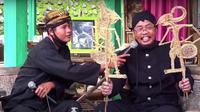 Wayang suket, Purbalingga, Jawa Tengah. (Foto: Liputan6.com/Rudal Afgani Dirgantara)