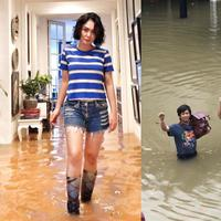 Artis-artis yang Rumahnya Kebanjiran (dok. Instagram)