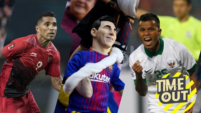Berita video time out tentang kembalinya Lionel Messi dari cedera dan fakta menarik keikutsertaan Timnas Indonesia di Piala AFF.