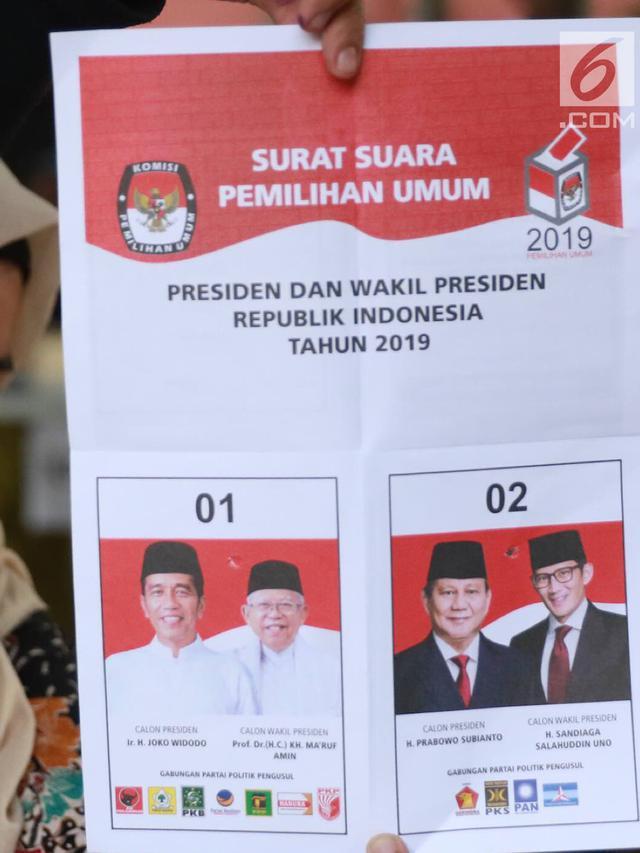 Di Tps Ini Jumlah Suara Jokowi Dan Prabowo Kalah Dari Suara Tidak Sah