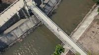 Jembatan Gantung Nawacita Tegaldowo. (Dok Kementerian PUPR)
