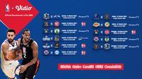 Pertandingan NBA 2020/2021 pekan ke-12 dapat disaksikan melalui platform streaming Vidio. (Dok. Vidio)
