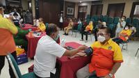 Kader Kosgoro 1957 donor darah di PMI Jakarta (Istimewa)