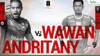 Final Piala Presiden 2018_Andritany Vs Wawan (Bola.com/Adreanus Titus)