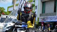 """Sebutan """"lady biker"""" bisa menjadi predikat tersendiri bagi yang menyandangnya. (Otosia.com)"""