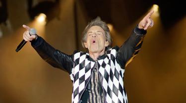 Penampilan Memukau Mick Jagger di Konser Rolling Stones