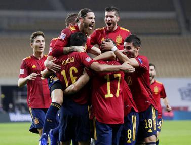Bantai Jerman, Spanyol Melaju ke Semifinal UEFA Nations League