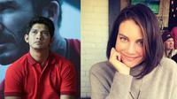 Iko Uwais dan Lauren Cohan (Deki Prayoga/Bintang.com - Instagram/ laurencohan)