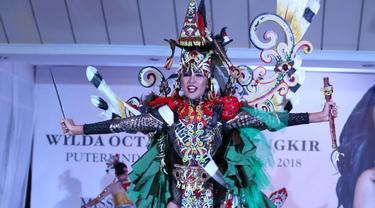 Putri Pariwisata 2018 Wilda Octaviana Situngkir