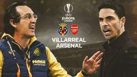 Liga Europa - Villarreal Vs Arsenal - Head to Head Pelatih (Bola.com/Adreanus TItus)