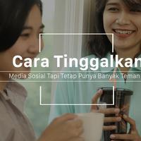 Jangan khawatir nggak punya banyak teman meski kamu meninggalkan media sosial. (Foto: Daniel Kampua, Digital Imaging: Nurman Abdul Hakim/Bintang.com)