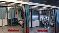 6 hasil editan foto di MRT (Sumber: Instagram/@sezersean)