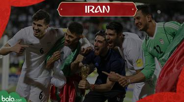 Berita Video Profil Tim Piala Dunia 2018, Iran