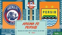 Shopee Liga 1 - Arema FC Vs Persib Bandung (Bola.com/Adreanus Titus)