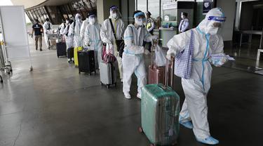FOTO: Infeksi COVID-19 di Filipina Melonjak Melewati 500 Ribu Kasus