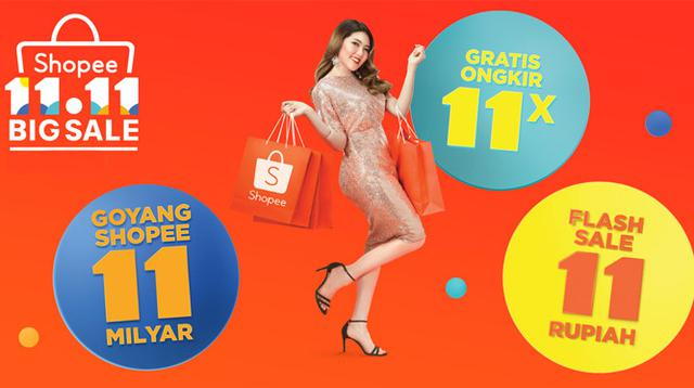 Shopee 11.11 Big Sale berhasil mencatatkan jumlah pesanan secara regional pada tanggal 11 November 2018 melebihi angka 11 juta atau meningkat 4,5 kali dari tahun sebelumnya.