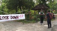 Satgas covid melakukan pengecekan terhadap 2 RT di Padukuhan Dengok II yang melakukan isolasi mandiri.