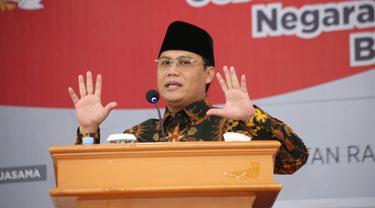 Ahmad Basarah: Kemajemukan takdir Tuhan bagi bangsa Indonesia. (foto: dok. MPR)
