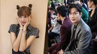 Seleb Korea di Paris Fashion Weeks (Sumber: Instagram/lalalalisa_m dan soompi)