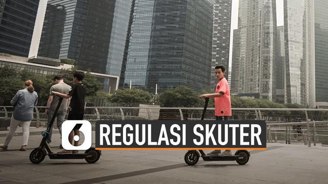 Berbagai polemik skuter listrik di Jakarta jadi sorotan. Dishub DKI Jakarta pun terdorong membuat regulasi penggunaannya.