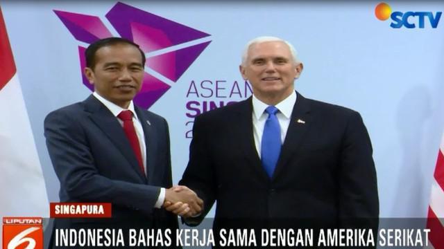 Pemerintah menekankan bahwa di bidang perdagangan, Indonesia dan Amerika Serikat tidak saling berkompetisi dan bisa saling melengkapi.