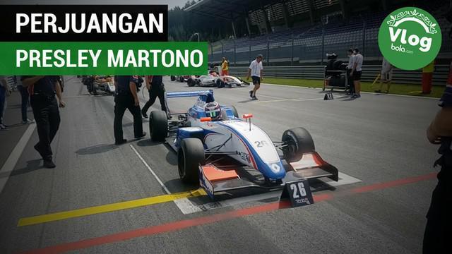 Berita video VLOG Bola.com yang kali ini menampilkan perjuangan tak mudah pebalap Indonesia, Presley Martono, di Sirkuit Austria.