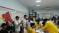 Suasana Pendaftaran pasangan calon di KPU Banyumas. (Foto: Liputan6.com/Muhamad Ridlo)