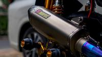 Penggunaan knalpot racing di motor matik harus menggunakan DB killer (Layz Motor)