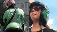 Driver ojek online bawa penumpang artis cantik. Dok: Instagram.com/@newdramaojol.id