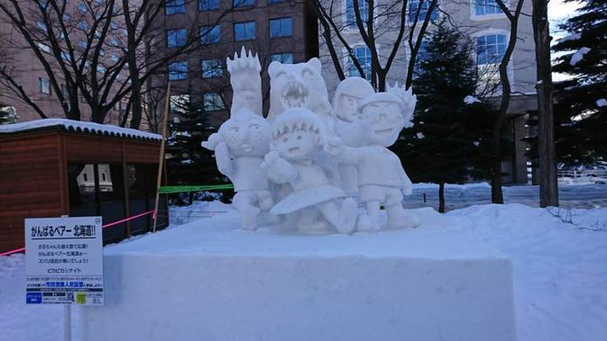 Sapporo Snow Festival di Hokkado, Jepang. (Liputan6.com/Dinny Mutiah)