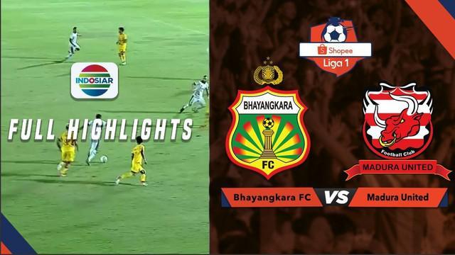 Berita video highlight Shopee Liga 1 2019 antara Bahayangkara FC melawan Madura United yang berakhir dengan skor 1-1, Senin (5/8/2019).