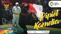 Garuda Kita Asian Games Pipiet Kamelia (Bola.com/Grafis: Adreanus Titus /Foto: Merdeka.com/Imam Buhori)