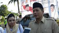 Wakil Ketua Umum DPP Gerindra, Ferry Juliantono dan anggota DPR Fraksi Gerindra asal daerah pemilihan Banyumas-Cilacap, Novita Wijayanti. (Foto: Liputan6.com/Muhamad Ridlo)