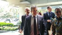 Presiden Financial Action Task Force (FATF) Santiago Otamendi mengunjungi kantor Menkeu Sri Mulyani, hari ini (Dok Foto: Merdeka.com/Dwi Aditya Putra)